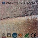 소파 또는 의자 또는 침대 또는 상보 또는 가구 훈장을%s 악어 곡물 PVC 가죽