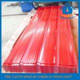 中国の鋼鉄波形カラー上塗を施してある屋根のクラッディングの金属板