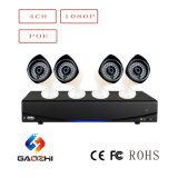 4 Kanal-Warnungssystem NVR IP-Kamera-Installationssatz