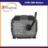 315W CMH 램프 디지털 밸러스트는 가벼운 장비를 증가한다