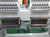 Doble cabeza máquinas de bordar de alta velocidad de la tapa