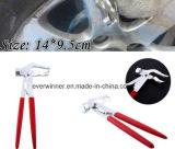 Pinza del peso del compensatore delle pinze del peso della rotella/strumento martello del dispositivo di rimozione/installatore/pneumatico nuovo
