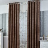 Salon de salon classique Chenille Jacquard Blackout Curtain Fabric