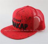 Hip Hop-modischer weißer PUNKT beiläufige Baseballmütze für Männer Spritzen-Tinte Fantasie-Baseball-Hüte