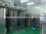 Печь профессиональной высокой хлебопекарни подносов типа 64 роторная электрическая