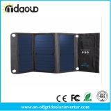 do banco portátil da potência solar de 20W 3A carregador Foldable do painel solar do USB do telemóvel de Powerbank com Power3s Sunpower para o telefone