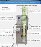 Saco de filtro dessecante de peso automático do pó do pó da partícula na extremidade da máquina de embalagem lateral da selagem de Wolfberry três chineses/da máquina de empacotamento de inoxidável