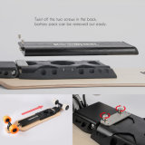 Koowheel a breveté la planche à roulettes électrique Longboard électrique avec les haut-parleurs duels de Bluetooth de moteurs duels d'UL