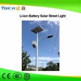 larga vida de la alta calidad del precio competitivo de la luz del jardín de la luz de calle de la energía solar 30-80W