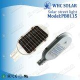 IP65 Waterproof a luz de rua integrada do diodo emissor de luz do painel 12V solar
