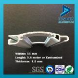 Precio de la venta directa de rodillos de ventana de puerta de persiana 6063 aleación de aluminio de perfil