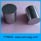 Aimant spécialisé de cylindre de néodyme de nickel de terre rare pour l'industrie