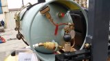 Triplex完全で自由な容器のマストが付いている2000kgガソリンフォークリフト