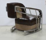 포도 수확에 의하여 솔질되는 스테인리스 관 팔걸이 가죽 의자