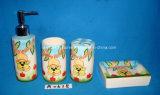 4PCS ceramisch Bad dat voor de Decoratie van het Huis/van het Hotel wordt geplaatst