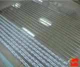 Poli fette dell'otturatore del rullo del carbonato/portelli di cristallo della saracinesca