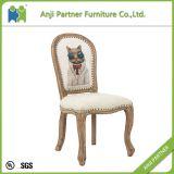 優雅な耐久の居間の木の食事の椅子(アーリーン)