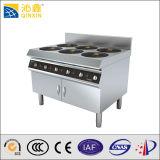 Печка горелки оборудования 6 кухни гостиницы электрическая