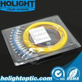 Отрезок провода оптического волокна одиночного режима LC