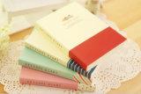 Personalizado impreso Tapa blanda Ejercicio de papel del cuaderno