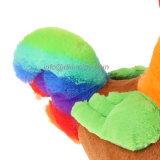 Het Gevulde Stuk speelgoed van de Pluche van het Stuk speelgoed van de Kip van de regenboog Dier
