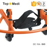 Sedia a rotelle di alluminio ad alta resistenza del manuale di pallacanestro di addestramento di sport delle attrezzature mediche