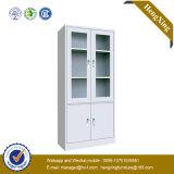 Haute qualité en métal éléganten bois plaqué blanc Classeur (HX-MG19)
