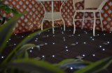 Suelo ligero solar del jardín del azulejo del Decking del diseño WPC de la manera