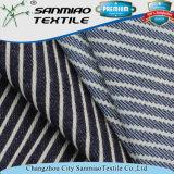 Tessuto a strisce del Jean della saia di prezzi poco costosi
