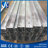 H 단면도가 강철 구조물 란에 의하여 직류 전기를 통한다