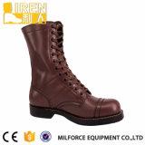 ブラウンの安い軍の戦闘用ブーツ