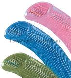 PVC 섬유에 의하여 강화되는 나선형 호스 관 밀어남 선