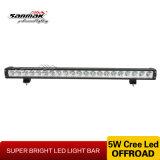 Barre d'éclairage LED de véhicule de la haute énergie 105W de la lumière 30 tous terrains ''