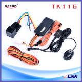 Tensão de entrada CC de 6-36V Rastreador GPS GSM para localização de Automóveis (TK116)