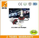 Lampadina del faro di alta qualità 4000lm H4 LED con il disegno di dissipazione di calore del ventilatore