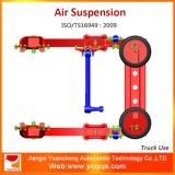 Blattfeder-Luft-Aufhebung-System des LKW-4*2