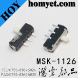 Interruptor de corrediça de SMD (MSK-1126)