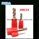 4f Tialn Coating Corner Radius Milling Cutter