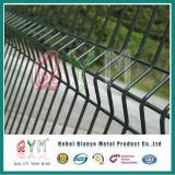 Panneaux soudés de frontière de sécurité soudés par frontière de sécurité de treillis métallique de treillis métallique