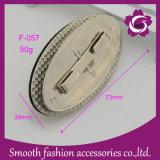 Saco de forma oval de moda gire a trava Mala de ouro de Hardware de Acessórios