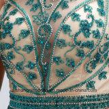 Prom Floor-Length bata com um elegante vestido Eveing Voltar Oco