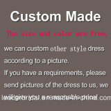 Отбортовывать мантии выпускного вечера партии плюс платья вечера B9107 размера изготовленный на заказ