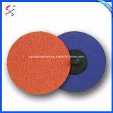 Disco abrasivo della falda dell'ossido di alluminio di Zirconia per la saldatura di smeriglitatura e la sbavatura del metallo