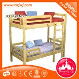 Безопасности деревянной мебелью с одной спальней детей лестницы Двухъярусная кровать