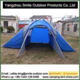 6 Pessoas Inspecção de QC Outdoor Camping 2 Room Family Tent