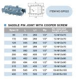 たる製造人ねじガスケットが付いているPVC圧力付属品サドル取付軸の接合箇所