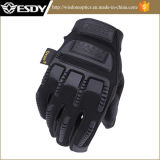 Neues Modell Esdy voller Finger-im Freien taktisches Handschuh-Schwarzes