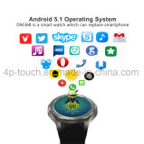 teléfono elegante del reloj Bluetooth del teléfono móvil de 3G con el monitor Dm368 del ritmo cardíaco