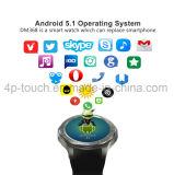 3G 이동 전화 심박수 모니터 Dm368를 가진 지능적인 손목 시계 전화