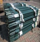 アメリカの鋼鉄によって散りばめられるT Post/1.33lb緑の塗られたT棒ポスト